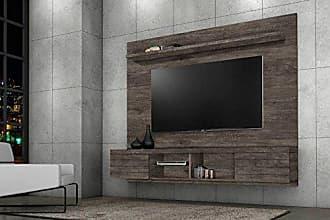 J&A Moveis Estante Home para TV de ate 55 Polegadas Vegas Cor Itauba
