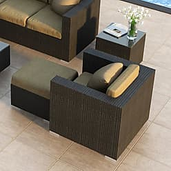 Harmonia Living Outdoor Harmonia Living Urbana Resin Wicker 3 Piece Club Chair Patio Set - HL-URBN-CB-3CC-IN