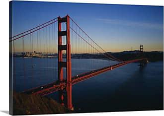 Great Big Canvas Golden Gate Bridge Across the Sea Wall Art - 93841_24_24X16_NONE