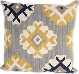 Bashian Navajo KP102 Indoor Throw Pillow - KIPL-GY-1.6 PL-KP102