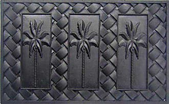 Geo Crafts Rubber Palm Trees Doormat