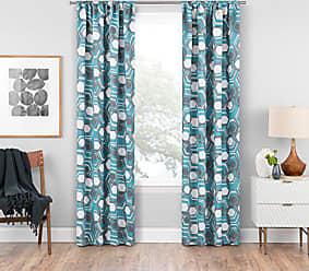 Ellery Homestyles Eclipse Griffith Blackout Window Curtain Panel, 37 x 63, Aegean
