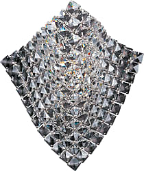 ET2 Contemporary Lighting ET2 Contemporary Lighting E24270-20PC Wave 1-light Wall Sconce in Polished Chrome finish with Crystals