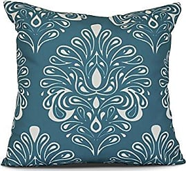 E by Design E by design Veranda Geometric Print Pillow 26 x 26 Teal