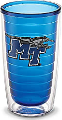 Trevis Tervis 1196914 Middle Tennessee State University Emblem Individual Tumbler, 16 oz, Sapphire