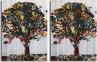 Omax Decor OMAX Tree of Knowledge Print on Canvas - 48W x 32H in. - A 3161