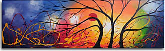 Omax Decor Ethereal Trees Dance Canvas Wall Art - 40W x 12H in. - M 2199
