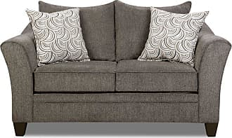 United Furniture Simmons Upholstery Albany Loveseat Truffle - 6485-02 ALBANY TRUFFLE