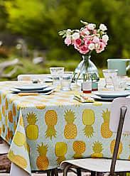 Danica Studio Festive pineapples tablecloth