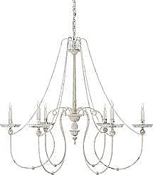 Visual Comfort Umbria 6-Light Chandelier