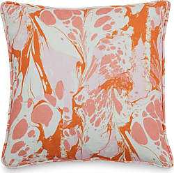 Drew Barrymore Flower Home Vintage Marble Decorative Throw Pillow by Drew Barrymore Flower Home Palm Springs Pink - 663E185490A944018CB6EA2A70C9CFC9