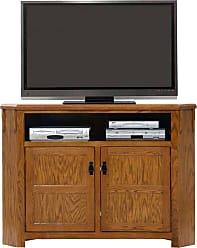 American Heartland 57 in. Oak Corner TV stand - Assorted Finishes - 88743LT