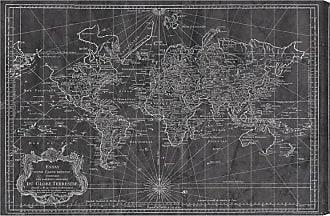 Hatcher & Ethan Hatcher and Ethan World Map 1778 Canvas Wall Art - HE11092_60X40_CANV_XXHD_HE