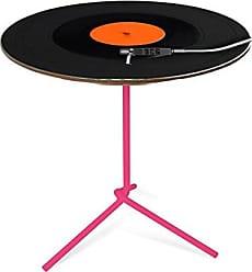 Artezanal Mesa Flip Digital 40x53cm disco Pés Rosa Vintage