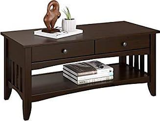 CorLiving LXY-034-T Crestway Coffee Table Espresso