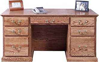 Forest Designs Customizable Traditional 1048 Computer Desk - 1048-T