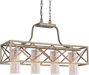 Woodbridge Lighting 12626VIN-C404 Braid 4 Light 34 Wide 1 Tier Shaded