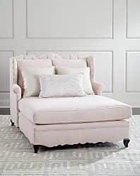 Haute House Home Bella Blush Tufted Back Chaise