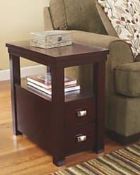 Ashley Furniture Hatsuko Chairside End Table, Dark Brown