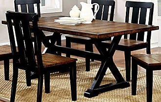 FURNITURE OF AMERICA CM3668T Alana Rectangular Dining Tables