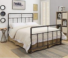 Coaster Fine Furniture Silas Metal Panel Bed Size California King Coa5033