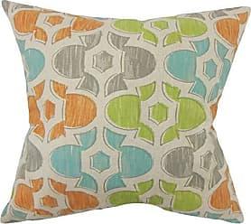 The Pillow Collection Bhayva Geometric Ridgeland Down Filled Throw Pillow