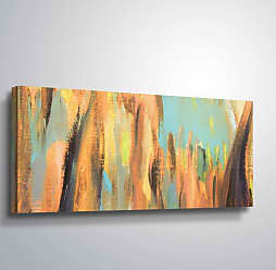 Brushstone Third Attempt by Scott Medwetz Gallery Wrapped Canvas, Size: 12x24 - 0MED905A1224W