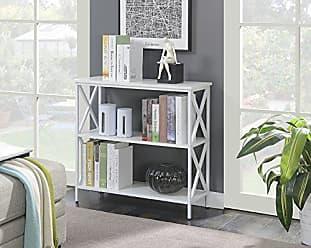 Convenience Concepts 161833WFW Tucson Bookcase, White
