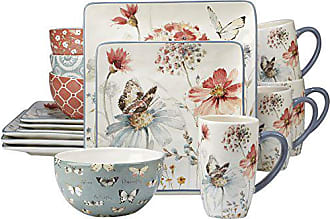 Certified International 89008 Country Weekend Dinnerware Tabletop, One Size, Multicolor