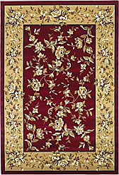 Kas Rugs KAS Oriental Rugs Cambridge Collection Floral Delight Area Rug, 33 x 411, Red/Beige
