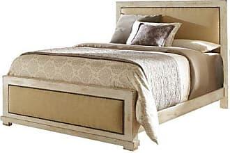 Progressive Furniture P610-34/35/78 Willow Bedroom, Queen, Distressed White