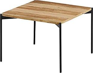 Schwarz Zons Blackus St/änder quadratisch aus Holz