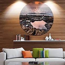 DESIGN ART Designart Wall Art - Disc of 23, 23X23-Disc of 23 inch