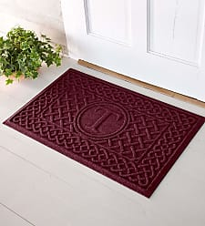Bungalow Flooring Waterhog Cable Weave Doormat with Single Initial, 2 x 3