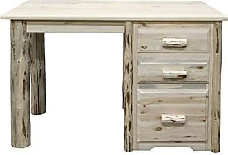 Montana Woodworks MWOD Montana Collection Office Desk, Ready to Finish