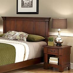 Home Styles Aspen Rustic Cherry King Headboard & Night Stand by Home Styles