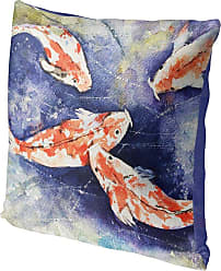 Kavka Designs Koi Accent Pillow, Size: 16 x 16 - IDP-DI16-16X16-JAY043