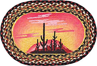 Earth Rugs PMS-319DS-4 Set of Placemats, Orange