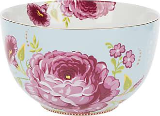 Pip Studio Floral Bowl - Blue - 23cm