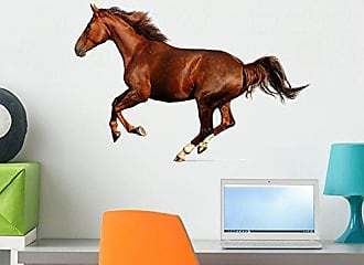 Wallmonkeys Gallop Horse Wall Decal Peel and Stick Graphic WM193028 (24 in W x 16 in H)
