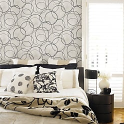 Brewster Home Fashions Schewe Geometric Wallpaper Beige - 2686-001942