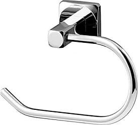 Bisk Ice Serie Toilettenpapierhalter Ohne Abdeckung, Chrom, 15,5 X 6,