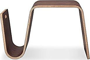 Kardiel Scando Mid-Century Modern Plywood Side Table, Walnut Wood