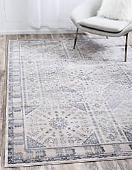 Unique Loom Paris Collection Pastel Tones Traditional Distressed Beige Area Rug (2 x 3)