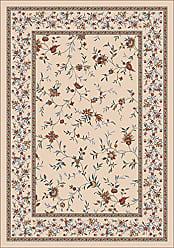 Milliken Carpet Pastiche Collection Hampshire Octagon Area Rug, 77 x 77, Sand