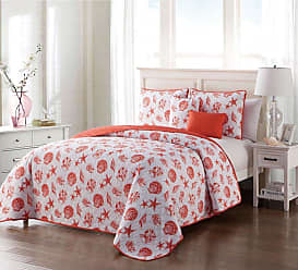 VCNY Marco Seashell Reversible Quilt Set by VCNY Home, Size: Full/Queen - MC9-5QT-FUQU-IN-OI