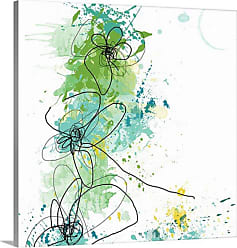 Great Big Canvas Green Botanica Canvas Wall Art - 1047920_24_16X16_NONE
