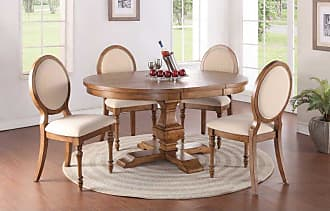 Winners Only Pedestal Dining Table with 18 in. Butterfly Leaf - DG34866