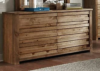 Progressive Furniture P604-23 Melrose Drawer Dresser, 62 x 18 x 34, Brown