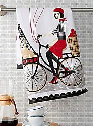 Danica Studio Tour of Paris tea towel